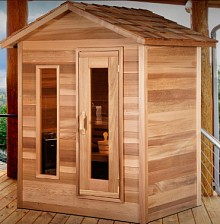Outdoor Cabin Sauna