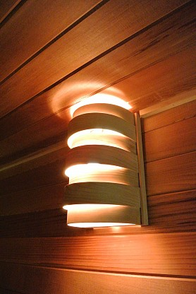 Curved Light Shade for Wall Light - Aspen