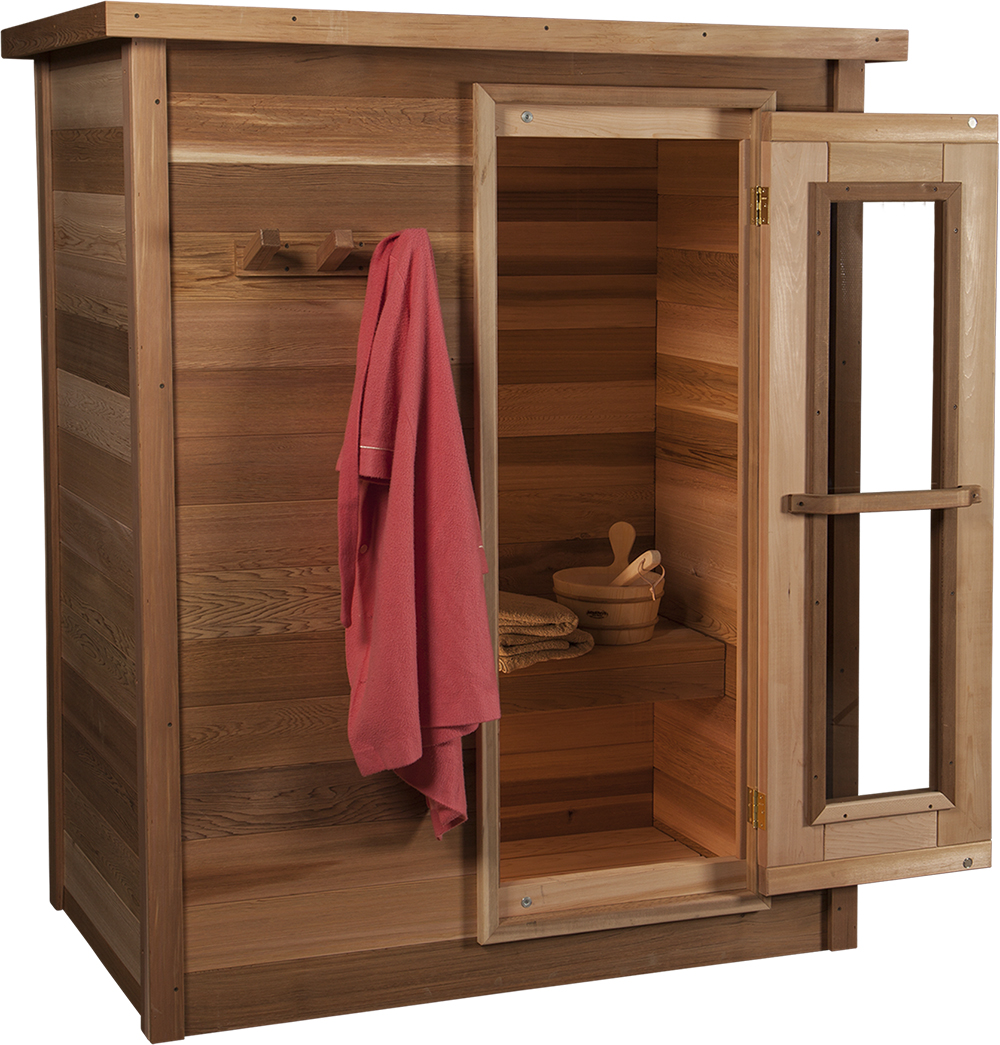 Pre-Fab Cabin Sauna Kits | Indoor Red Cedar Home Saunas