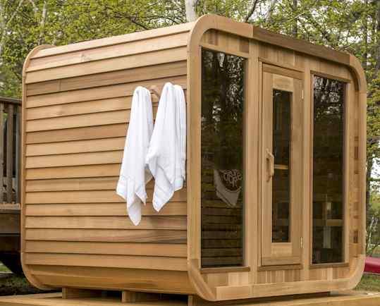Outdoor Saunas Cabin Amp Barrel Sauna Kits Canada Amp Usa