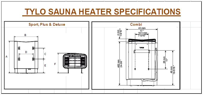 Tylo Sauna Heaters | Tylo Sport Sense Plus Combi Deluxe on sauna lighting, sauna heater diagram, sauna wiring circuit, sauna cabinet, sauna dimensions,