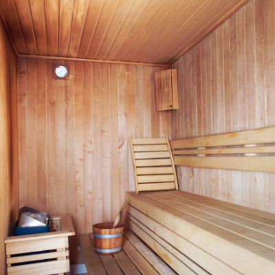 at home sauna