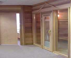 Saunafin Sauna showroom